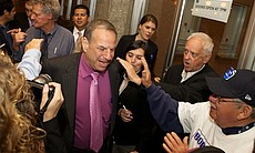 Bob Filner at Golden Hall on June 5, 2012. (17204)