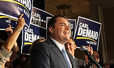 Carl DeMaio speaks to supporters on Election Ni... (17209)