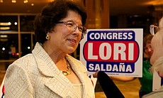 Lori Saldana at Golden Hall on June 5, 2012. (17211)