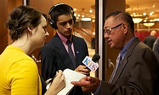Mateo Camarillo talks to KPBS reporter Adrian F...