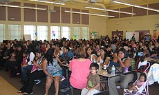A Mother's Day celebration at Fay Elementary.