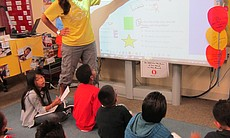 A class at Fay Elementary.