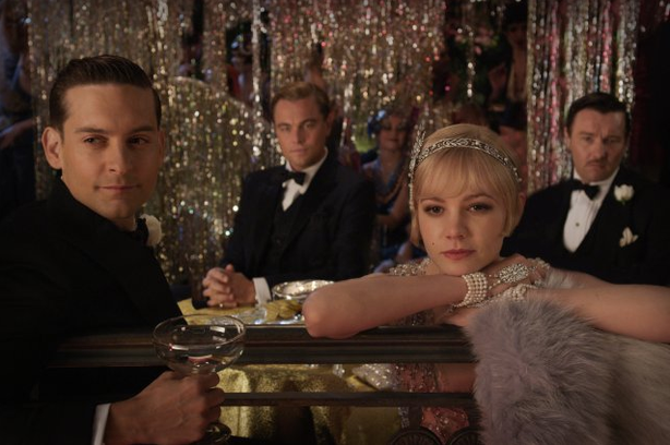 "Baz Luhrmann's ""The Great Gatsby"" stars Tobey Maguire, Leonardo DiCaprio and Carey Mulligan."
