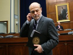 Federal Reserve Board Chairman Ben Bernanke hasn't said whether the central b...