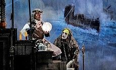 "David Daniels as Prospero and Luca Pisaroni as Caliban from Shakespare's ""The..."