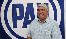 Francisco Quintanilla is the ampaign manager for the conservative National Action Party (PAN) in San Fernando.
