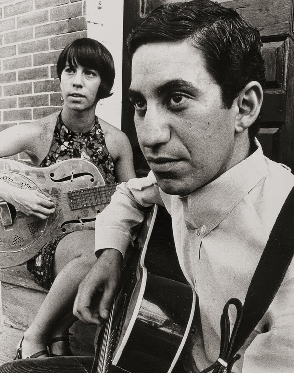 Jim and Ingrid at their home in Media, Pennsylvania, in the late 1960s.