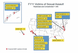 One In Five Marine Sexual Assaults Occur In San Diego County