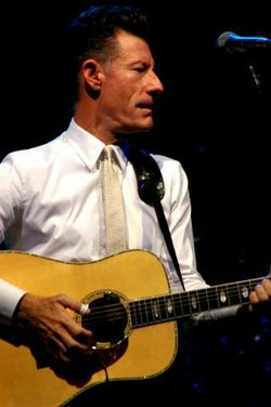 Lyle Lovett in concert in Austin, Texas, at the AUSTIN CITY LIMITS Music Fest...