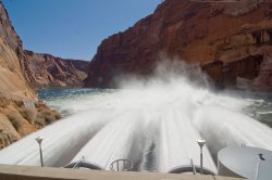 In May Interior Secretary Ken Salazar approved two high flows a year through ...