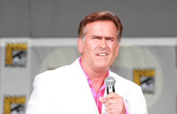 Bruce Campbell always makes for a great panel. Last year he headlined on about the Sam Axe movie.