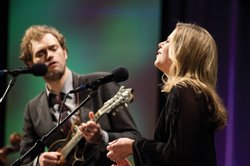 Mandolinist Chris Thile with guest vocalist Aoife O'Donovan.