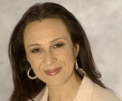 "Maria Hinojosa, host and managing editor of NPR's ""Latino USA"" and former Sen..."