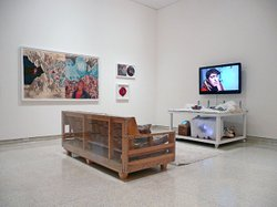 """Anarctic...huh?"" was on view at the Museum of Contemporary Art San Diego in 2010."