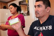 """Jesus Castro Romo takes various pills for various kinds of pain. """"I am in pa..."""