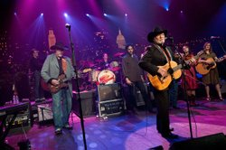 AUSTIN CITY LIMITS veterans and country music legends Willie Nelson and Aslee...