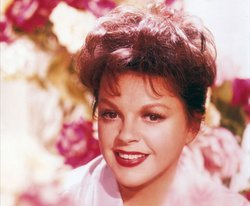 Judy Garland at the height of her adult career in 1962.