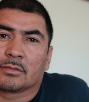 Jesus Castro Romo, shown in this 2012 photo, crossed the border in November 2010 to get to Tucson, Arizona, for a landscaping job. He said he was chased down by the Border Patrol and shot.
