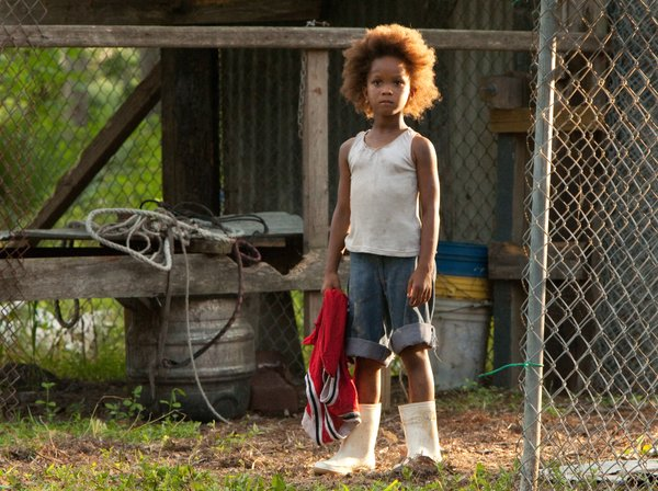"Quvenzhané Wallis makes her film debut as Hushpuppy in ""Beasts of the Southern Wild."""