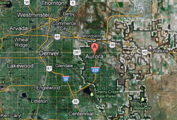 Aurora is on Denver's east side and is Colorado's third-largest city with 327...