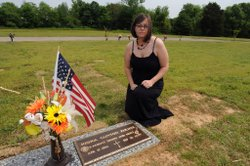 Stephanie Farmer, widow of Army Spc. Josh Farmer, who committed suicide in 2009.