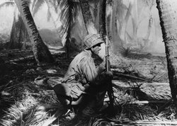 Gilbert Islands, Makin Atoll, ca. November 1943.