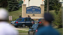 Seven people were shot and killed Sunday morning at a Sikh temple in Oak Creek, Wis., in what officials are treating as a case of domestic terrorism.