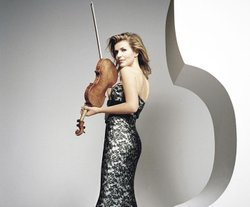 Violinist Anne-Sophie Mutter.