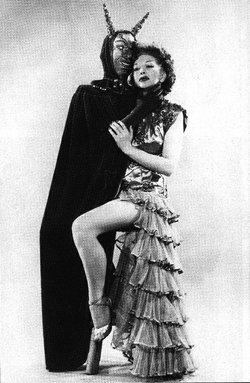 "The historic photo of a San Diego burlesque dancer that inspired the new play ""Talking Woman."""