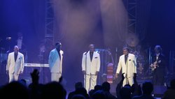 Little Anthony and the Imperials perform