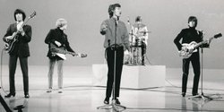 "The Rolling Stones perform ""Ruby Tuesday"" and ""Paint It Black"" in ""Ed Sullivan's Top Performers 1966-1969."""