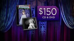 "Give at the $150 level during our TV membership campaign and receive Jackie Evancho's ""Songs from the Silver Screen"" CD, and the ""Music of the Movies"" DVD. This gift also includes enrollment in the myKPBS Savers Club plus additional online access to more than 130,000 merchant offers and printable coupons, as well as a KPBS License Plate Frame (if you're a new member). The CD (only) is available at the $75 level, and the DVD for $100."