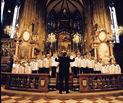 he Vienna Boys' Choir.