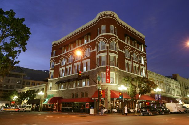 The Keating Hotel on F Street in the Gaslamp district.
