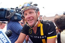 Lance Armstrong attends the 2011 Pan-Massachusetts Challenge on August 6, 201...