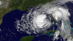 This August 27, 2012 GOES-East satellite image released by NOAA shows Tropica...