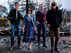San Francisco band Thee Oh Sees play up their kooky sounds at Bar Pink this m...