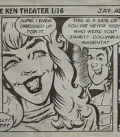 Comic strip featuring the Ken.