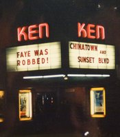"Ken marquee for ""Chinatown."""