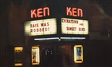 """Ken marquee for """"Chinatown."""" (18751)"""