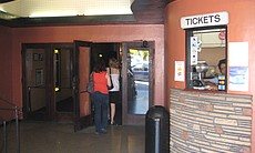 The ticket booth at the Ken.