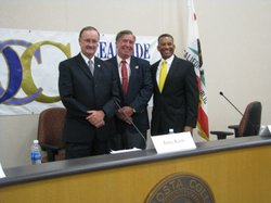 Oceanside mayoral candidates: Mayor Jim Wood, City Councilman Jerry Kern and ...