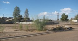 A vacant lot in San Diego.