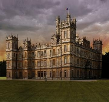 Highclere Castle, the real life Downton