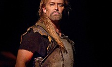 "Jay Hunter Morris as the title character in the Met's new production of Wagner's ""Siegfried."""