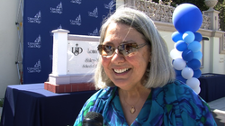 The University of San Diego honored Darlene Marcos Shiley for her gift of $20...