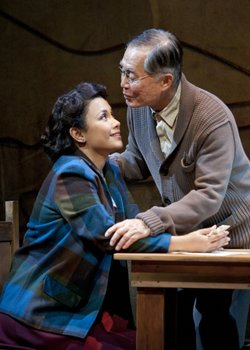 Lea Salonga and George Takei in