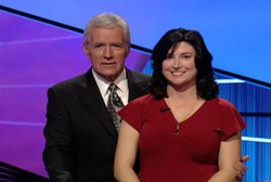 Alex Trebek and Home Post blogger Beth Ford Roth