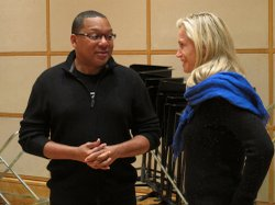 Multiple Grammy Award-winning jazz musician Wynton Marsalis speaks to SOUND T...
