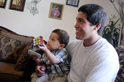Bertin Solis wonders how his family, including little brother Octavio, will g...